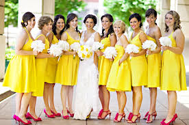 yellow bridesmaid dress bridesmaid dresses bright bold soft whitetruly engaging