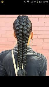 Hairstyles With Jumbo Braiding Hair 610 Best Braids Images On Pinterest Natural Hairstyles