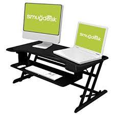 amazon com standing desk stand up adjustable desk riser