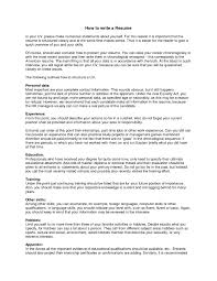 Job Resume Describe Yourself by What Do I Need For A Resume Resume For Your Job Application