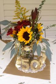50th anniversary centerpieces 60 beautiful flowers for 50th wedding anniversary centerpieces