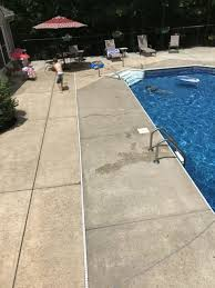 How Much To Concrete Backyard How To Properly Stain Your Concrete Patio The Washington Post