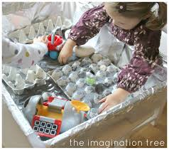 lunar landscape sensory small world play the imagination tree