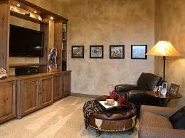 Small TV Rooms That Balance Style With Functionality - Home office in living room design