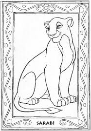 disney coloring pages lion king free large images crafting