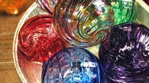 glass blown ornaments make unique gift and experience hudson