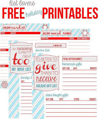 the 25 best free holiday planner printables ideas on pinterest