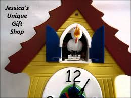 cluck coo chicken clock youtube