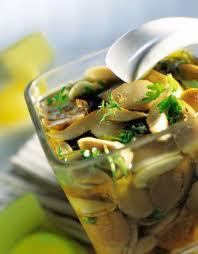 huile cuisine recette cèpes marinés à l huile