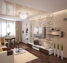 steinwand fã r wohnzimmer awesome and solid brick wall living room design ideas with