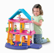 barbie house black friday amazon com fisher price my first dollhouse caucasian family