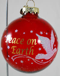 bronner u0027s red glass ball christmas tree ornament hungary peace