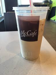 Iced Coffee Mcd medium sugar free vanilla iced coffee only 120 calories yelp