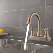three bathroom faucet wayfair