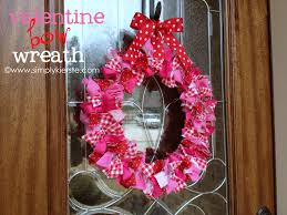 s day bow wreath