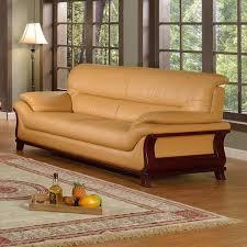 leather sofa with nailheads caramel leather sofa roche bobois designer caramel leather and