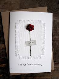 2nd anniversary gift ideas for husband 9 best anniversary cards images on anniversary ideas