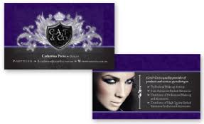 freelance makeup artist business card boutique beautiful custom business card design portfolio