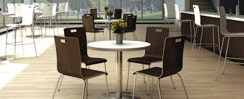 Cafe Dining Table And Chairs Kfi Seating Seating Chairs Guest Seating Collaboration