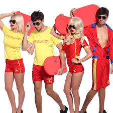 80s 90s life guard rescue fancy dress lifegurad beach hen stag
