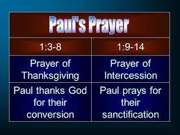 a pastoral prayer colossians 1 ppt