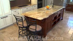 yellow river granite kitchen countertops marble com youtube