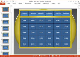 Jeopardy Template Microsoft Powerpoint Kotametro Info Jepordy Template
