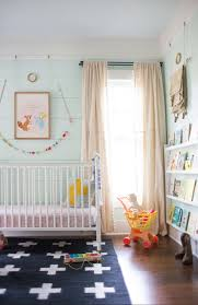 Yellow Nursery Curtains by Diy Paint Dropcloth Curtains Lay Baby Lay
