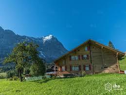 linge de lit style chalet montagne location chalet à grindelwald iha 3868