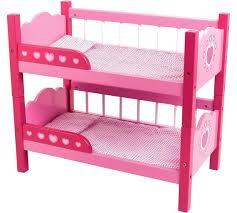 Buy Dollsworld Wooden Bunk Beds At Argoscouk Your Online Shop - Pink bunk bed