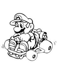mario kart coloring pages video game coloring pages
