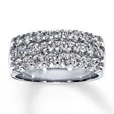 jared jewelers coupon anniversary ring 1 1 2 ct round cut 14k white gold jared rings