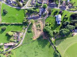 house site aerial photographs of the croxton manor house site framland