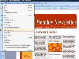 how to create an email newsletter in word create mobile responsive