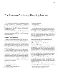 part 1 business continuity planning at airports operational