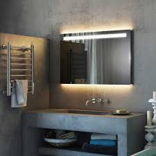 bathroom cabinets argent wide light mirror bathroom mirror led