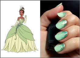 disney princess tiana waterfall nail art u2013 emi u0027s manis