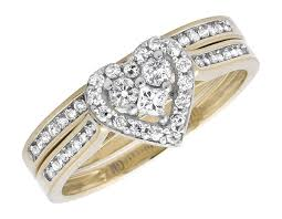 Gold Diamond Wedding Ring Sets by Diamond Wedding U0026 Engagement Ring Sets