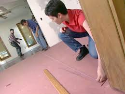 Pink Laminate Flooring How To Install A Heated Hardwood Floor How Tos Diy