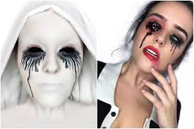the ghost emoji is perfect gq makeup artist creates american horror story halloween looks