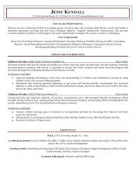 Nanny Resume Example by Nanny Resume Example Samples For Job Objective Image A
