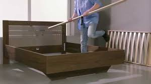 Wooden Bed How To Assemble The Mirabel Wooden Bed Frame Youtube