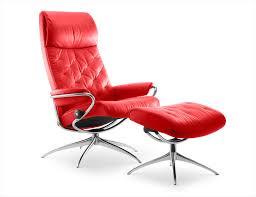 fauteuils rouges fauteuil cuir stressless