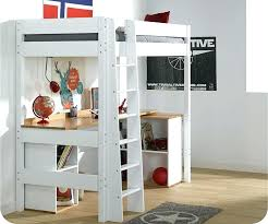 lit mezzanine avec bureau intégré lit sureleve avec bureau globalkids info