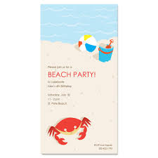 printable beach party invitations cloudinvitation com