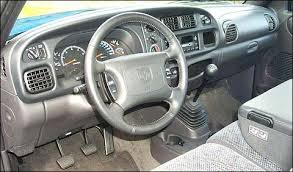 2000 dodge ram 1500 interior pickuptruck com road test 2000 dodge ram 1500 sport slt