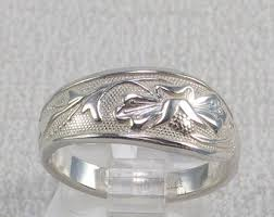 carved bridal carved ring etsy