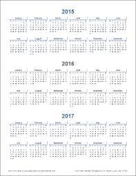 printable calendar year 2015 multi year calendar printable printable calendar 2015 home life