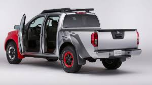 convertible nissan truck nissan frontier diesel runner concept bows in chicago