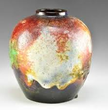 Czechoslovakia Vase Bihl Czechoslovakia Vase C 1925 Art Deco Era Glass And Pottery